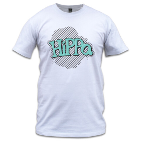 Black Stripe - T-shirt (Mens) - Hippo Unicycles