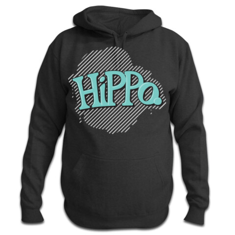 White Stripe - Pullover Hood - Hippo Unicycles